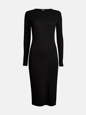Bik Bok Odessa rib-knit dress - Svart