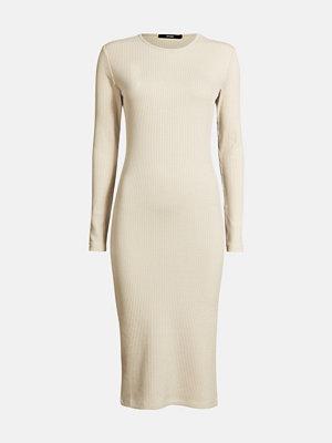 Bik Bok Odessa rib-knit dress - Ljusbeige