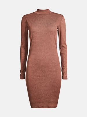 Bik Bok Mirage long-sleeved dress - Brun