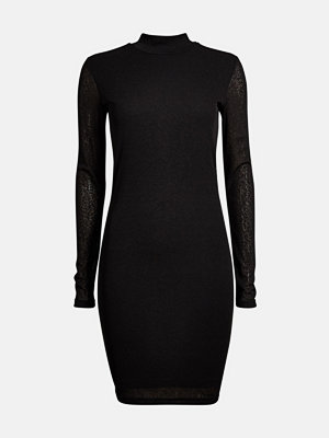 Bik Bok Mirage long-sleeved dress - Svart