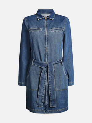 Bik Bok Clover cotton denim dress - Blå