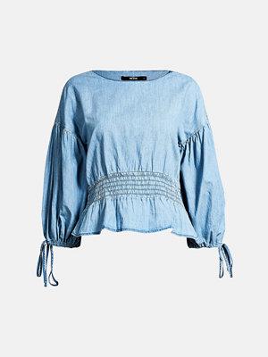Skjortor - Bik Bok Simone blouse - Blå