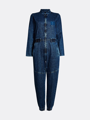 Jumpsuits & playsuits - Bik Bok Susan denim jumpsuit - Blå