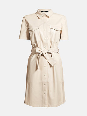 Bik Bok Josephine PU dress - Beige