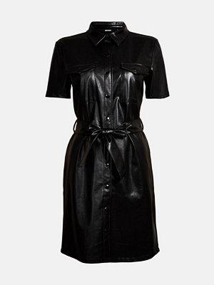 Bik Bok Josephine PU dress - Svart