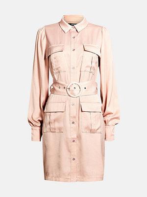 Bik Bok Sterling satin dress - Ljusrosa
