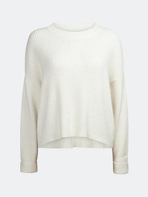 Tröjor - Bik Bok Tallo rib-knit jumper - Cremefärg