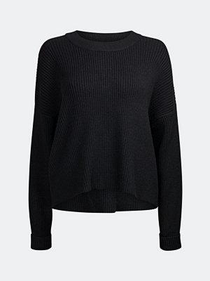 Tröjor - Bik Bok Tallo rib-knit jumper - Svart