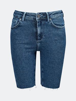 NEVER DENIM Rider Blue denim shorts - Blå