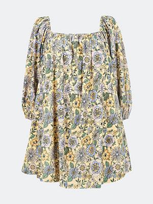 Bik Bok Flora klänning med puffärm - Multi