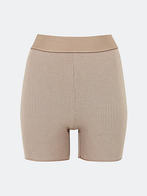 Bik Bok Rib Biker shorts - Brun