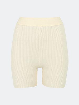 Bik Bok Rib Biker shorts - Offwhite