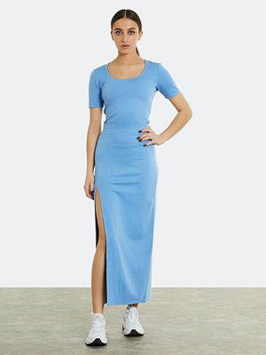 Bik Bok Zenda figursydd kjol - Blå