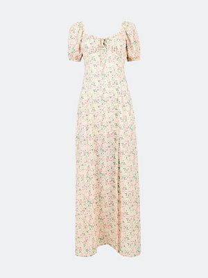 Bik Bok Judy lång klänning i chiffong - Multi