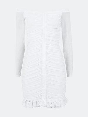 Bik Bok Irresistible klänning i mesh - Vit