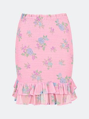 Bik Bok Kate smockad kjol - Multi