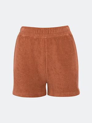Shorts & kortbyxor - Bik Bok Terra sweat shorts - Roströd