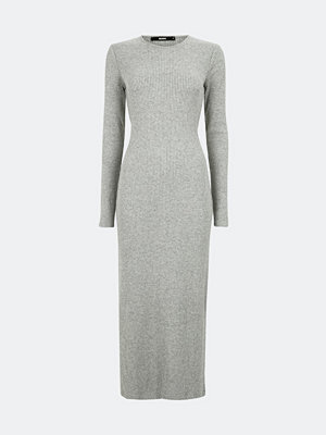 Bik Bok Damira knitted dress - Melerad grå
