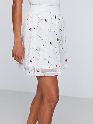 Gina Tricot Eliza embroidery mesh skirt