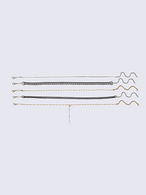 Chokers - Gina Tricot 5 Mixed Metal Choker