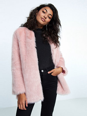 Gina Tricot Ebba faux fur jacket