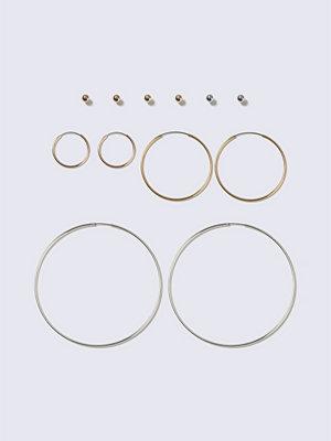 Gina Tricot örhängen Mixed Metal Multipack Earrings
