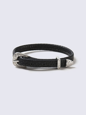 Chokers - Gina Tricot Black Buckle Bracelet