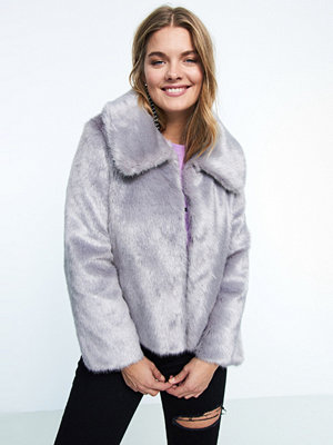 Gina Tricot Bella faux fur jacket