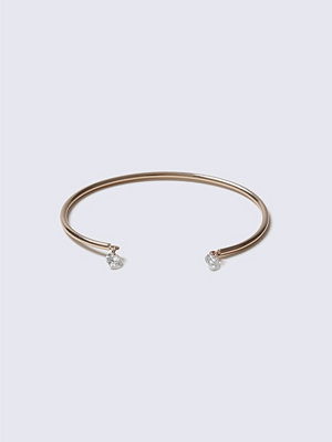 Gina Tricot armband Rose Gold CZ Loved Bangle
