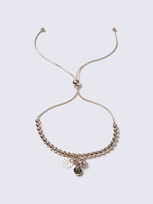 Gina Tricot armband Rose Gold Ball Charm Toggle Wistwear