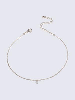Gina Tricot halsband Crystal Rose Gold Tiny Loved Choker