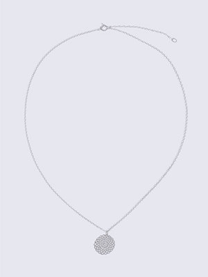 Gina Tricot halsband Flower Fili Sterling Silver Necklace