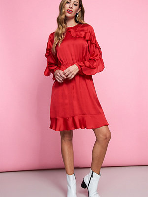 Gina Tricot Sabine frill dress