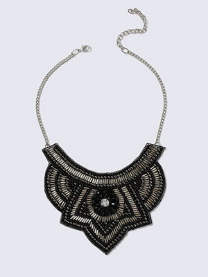 Gina Tricot halsband Black Collar Beaded Necklace