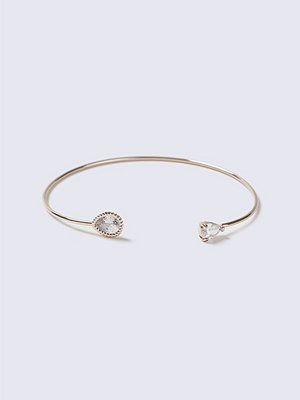 Gina Tricot armband Crystal Rose Gold Flower Wrist Wear
