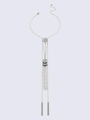 Gina Tricot halsband Silver Rhodium Chain Choker