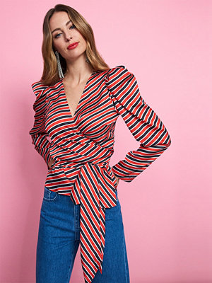 Gina Tricot Adele wrap blouse