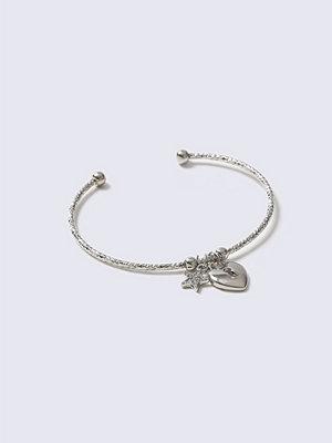 Gina Tricot armband Crystal Rhodium Mini Charm Wrist Wear