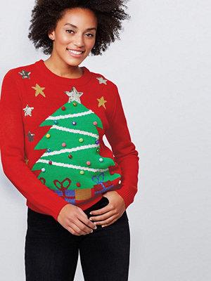 Gina Tricot Anna stickad jultröja
