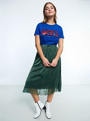 Gina Tricot Laila glitter mesh skirt