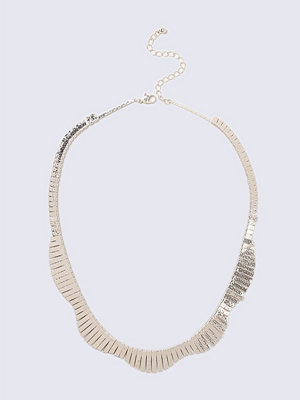 Chokers - Gina Tricot Rose Gold Stick Collar Necklace