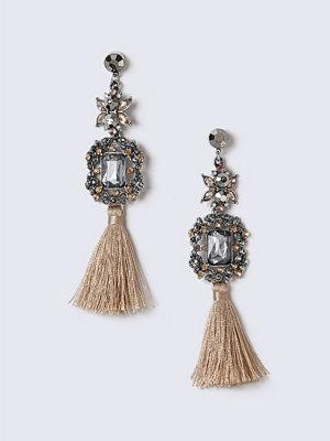 Gina Tricot örhängen Multi Fabric Tassel Earrings