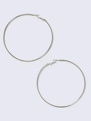 Gina Tricot örhängen Silver Large Sleeper Earrings
