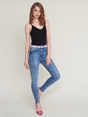 Gina Tricot Gina slit jeans