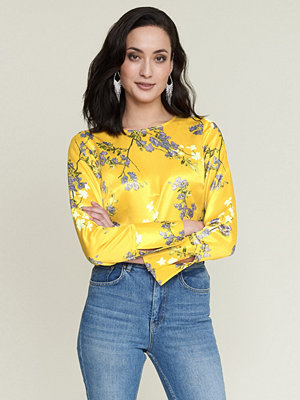 Gina Tricot Evelyn satin top