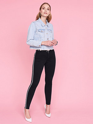 Gina Tricot Molly side stripe jeans
