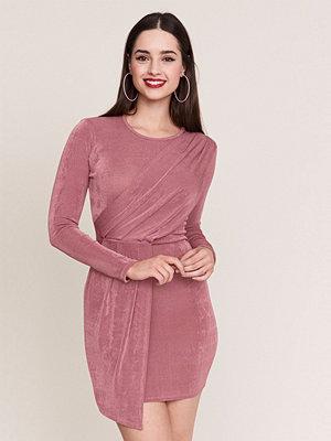 Gina Tricot Drapy omlottklänning