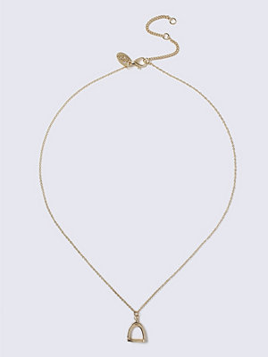 Gina Tricot halsband Gold Stirrup Ditsy Necklace