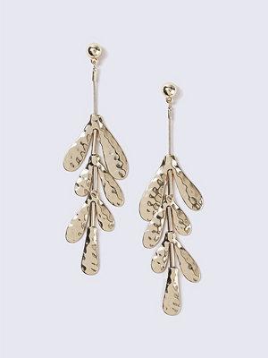 Gina Tricot örhängen Gold Flower Drop Earrings
