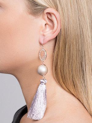 Gina Tricot örhängen Rose Gold Metallic Tassel Earrings